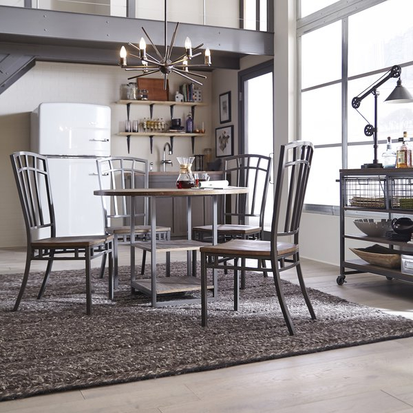 2020 Isolde 3 Piece Dining Sets Within Beetham 5 Piece Counter Height Dining Table Setbloomsbury Market (Gallery 17 of 20)