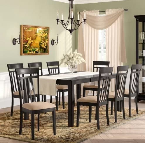2020 Smyrna 3 Piece Dining Sets Pertaining To 10 Dining Room Sets Under $1,000 That Seats 6, 8, 10 Or 12 People (View 17 of 20)