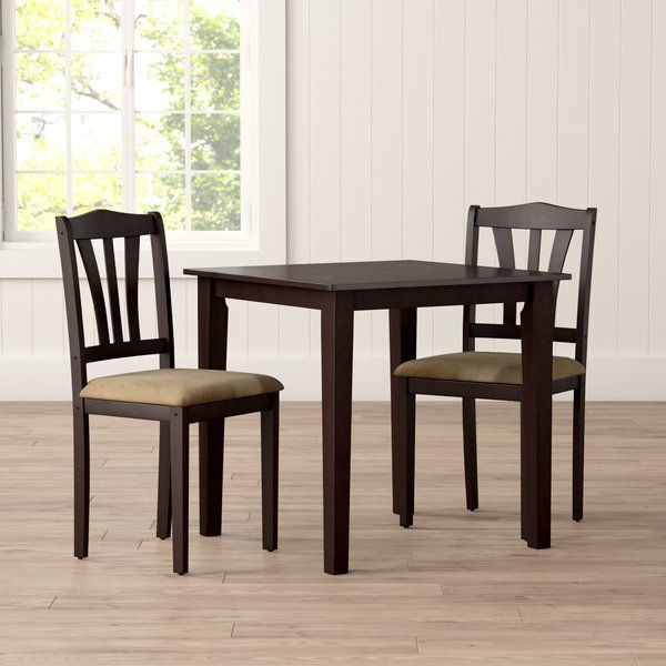 3 Piece Dining Set Pertaining To Recent Tenney 3 Piece Counter Height Dining Sets (View 1 of 20)
