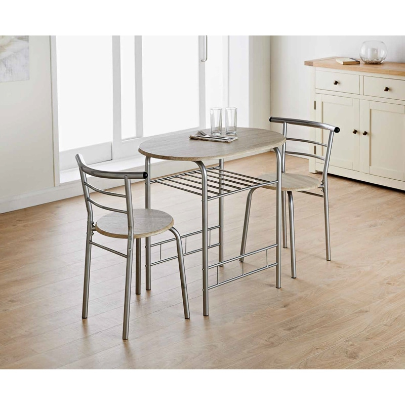 3 Piece Dining Sets With Regard To Fashionable Dallas Dining Set 3Pc (View 8 of 20)