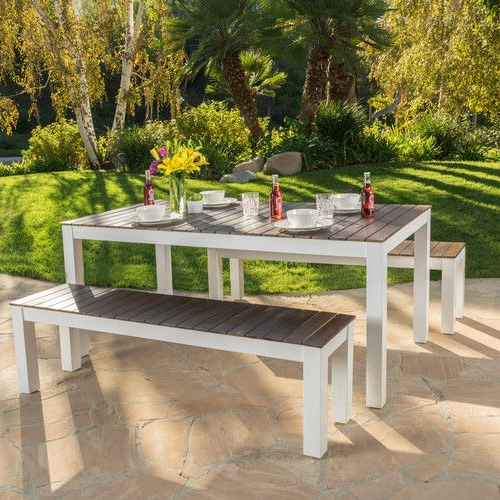 $325 Found It At Allmodern – St Croix 3 Piece Wood Picnic Set Regarding Most Popular Saintcroix 3 Piece Dining Sets (View 2 of 20)