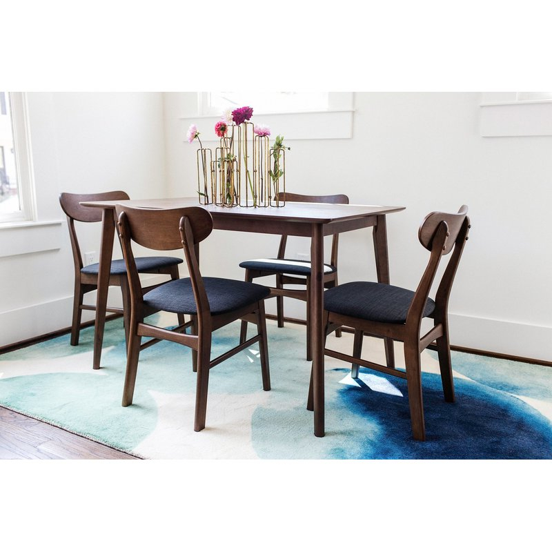 5 Piece Breakfast Nook Dining Sets Pertaining To Well Known George Oliver Velazquez 5 Piece Breakfast Nook Dining Set & Reviews (View 5 of 20)