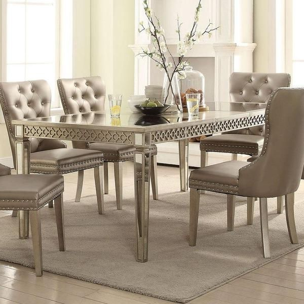 Acme Kacela 72155 5 Piece Dining Set In 2019 (Gallery 4 of 20)