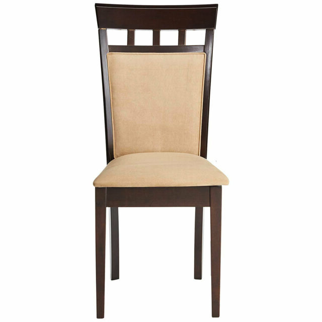 Adan 5 Piece Solid Wood Dining Sets (Set Of 5) Intended For Most Recent Glamour Home Adan Dining Chair – Set Of 2 For Sale Online (View 2 of 20)