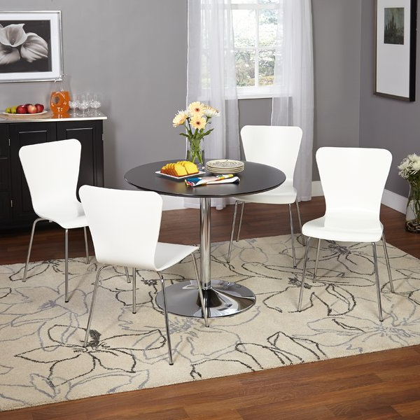 Allmodern For Fashionable Travon 5 Piece Dining Sets (Gallery 17 of 20)