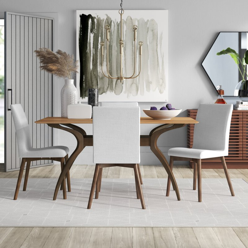 Allmodern Inside 5 Piece Dining Sets (View 3 of 20)