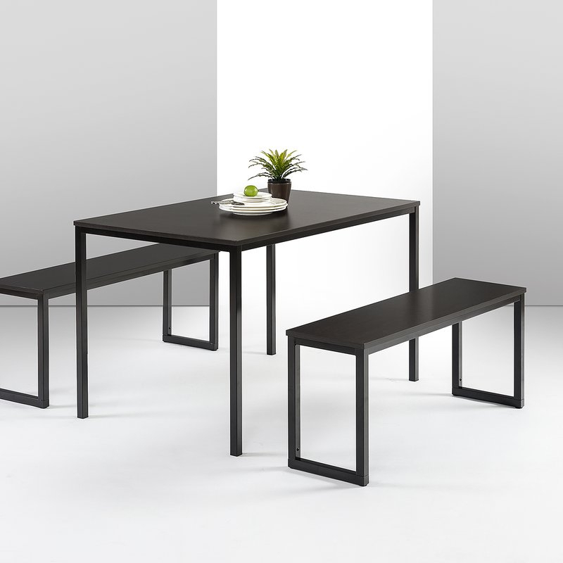 Allmodern Throughout Most Recent Ryker 3 Piece Dining Sets (View 11 of 20)