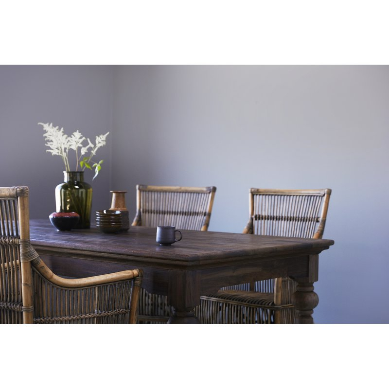 Ambash Solid Wood Dining Table In 2020 Linette 5 Piece Dining Table Sets (View 3 of 20)