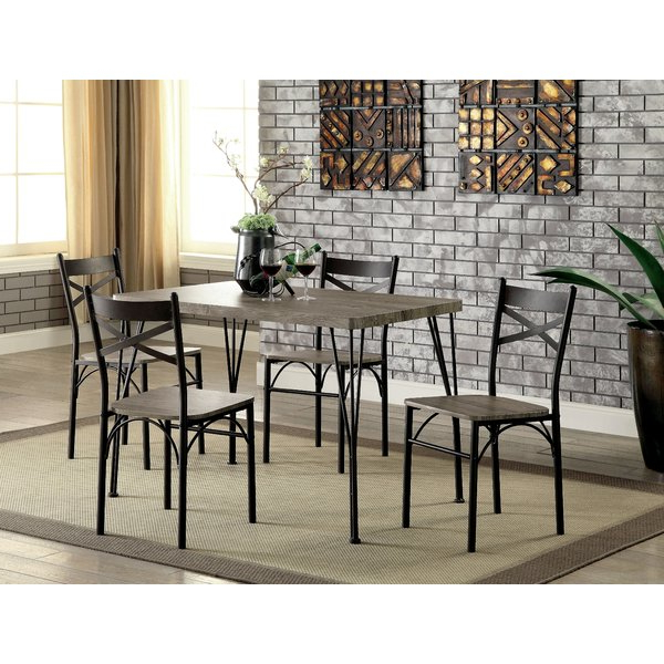 Andover Mills Middleport 5 Piece Dining Set & Reviews (View 5 of 20)