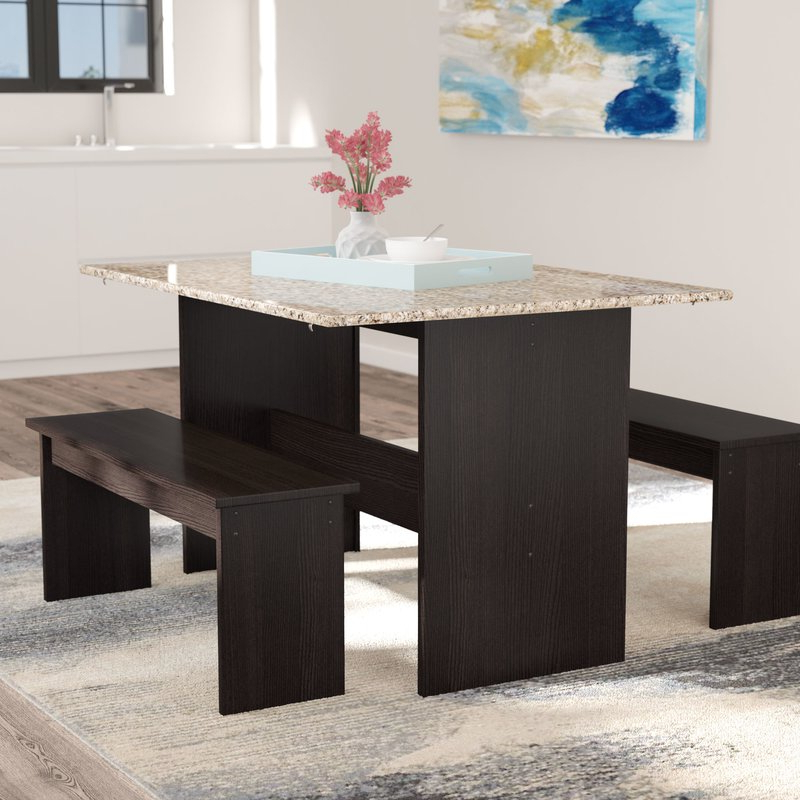 Featured Photo of Ryker 3 Piece Dining Sets