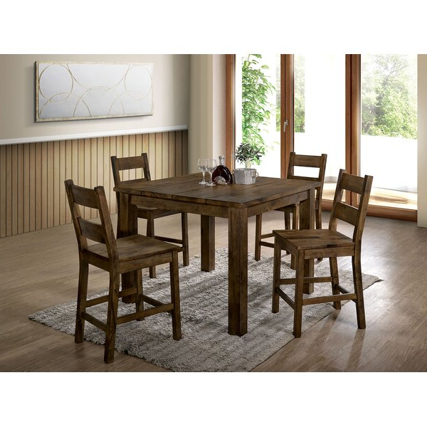 Anette 3 Piece Counter Height Dining Sets In Favorite Anette 3 Piece Counter Height Dining Setcharlton Home 2019 Sale (Gallery 12 of 20)