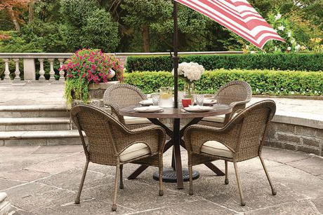 Aria 5 Piece Dining Sets For Trendy Hometrends Arya 5 Piece Dining Set (View 14 of 20)