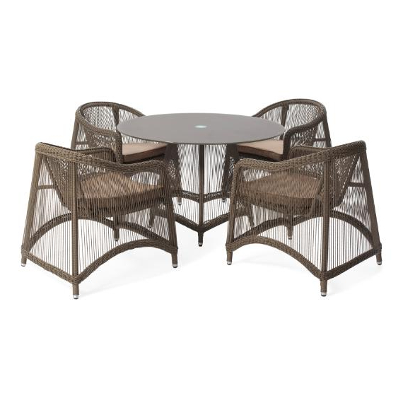 Aria 5 Pieces Oval Dining Set – Outdoor – Me2Concept Within Most Popular Aria 5 Piece Dining Sets (Gallery 4 of 20)