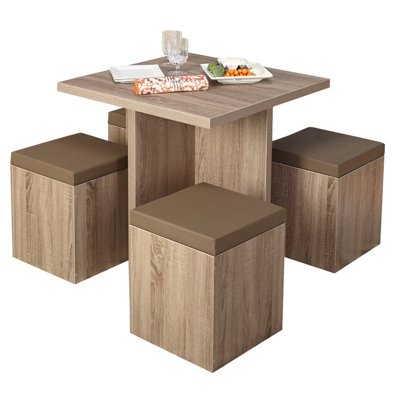 Badillo 5 Piece Dining Set & Reviews (View 8 of 20)