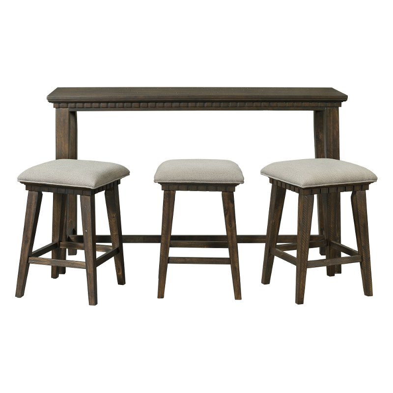 Bar Table Set – Summervilleaugusta Inside Current Crownover 3 Piece Bar Table Sets (View 4 of 20)