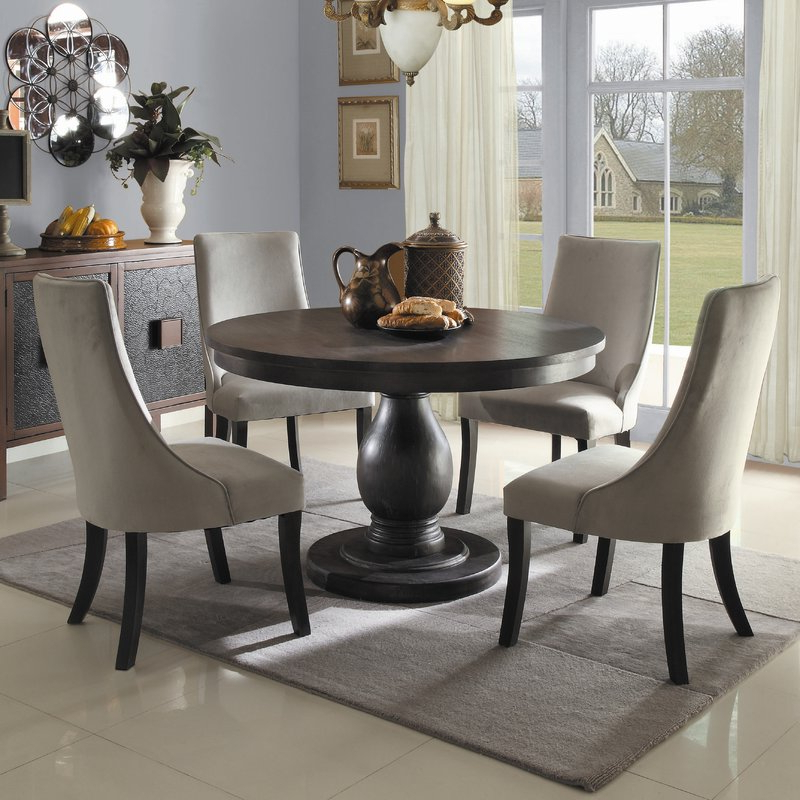Barrington 5 Piece Dining Set & Reviews (View 3 of 20)