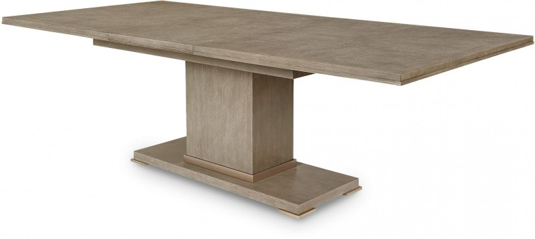 Bedfo 3 Piece Dining Sets In Famous Cityscapes Stone Bedford Rectangular Dining Table – 1Stopbedrooms (View 3 of 20)
