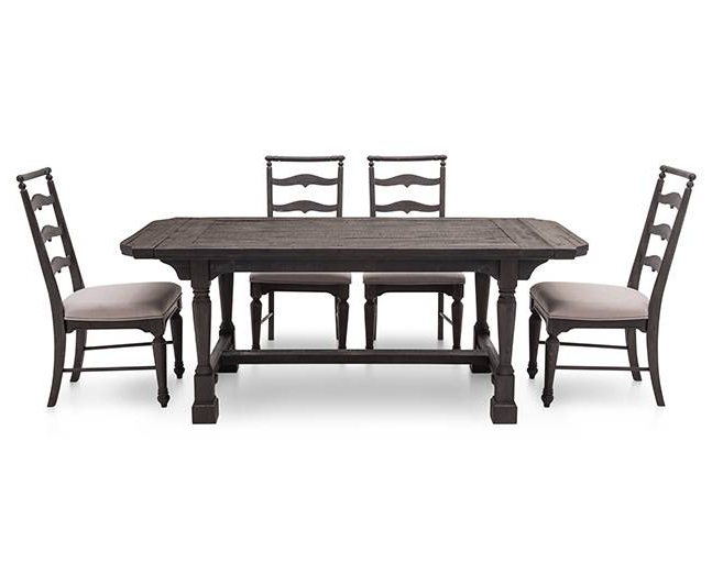 Bedfo 3 Piece Dining Sets Inside Favorite Bedford 5 Pc. Rectangle Dining Room Set – Furniture Row (Gallery 7 of 20)