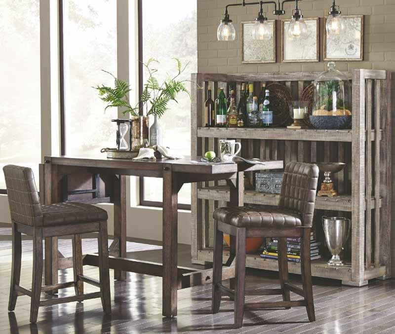 Bedfo 3 Piece Dining Sets Regarding Fashionable Broyhill Furniture – Bedford Avenue 7 Piece Drop Leaf Extendable (Gallery 4 of 20)