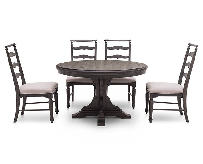Best And Newest Bedford 5 Pc. Rectangle Dining Room Set – Furniture Row With Regard To Bedfo 3 Piece Dining Sets (Gallery 5 of 20)