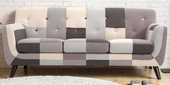 Best And Newest Buy Frida Three Seater Sofa In Grey Multi Colourcasacraft Online Throughout Frida 3 Piece Dining Table Sets (View 20 of 20)