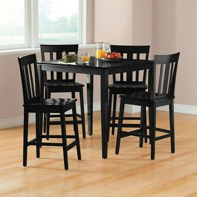 Best And Newest Denzel 5 Piece Counter Height Breakfast Nook Dining Sets Pertaining To Winston Porter Keeter 3 Piece Counter Height Breakfast Nook Dining (View 2 of 20)