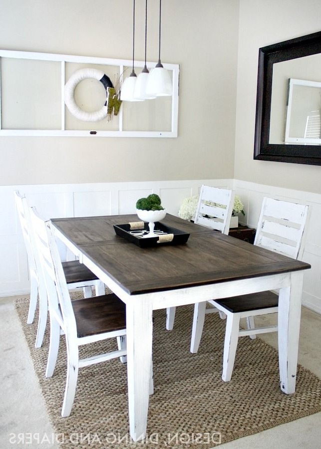 Best And Newest Diy Dining Table Makeovers – Before & Afters (View 4 of 20)
