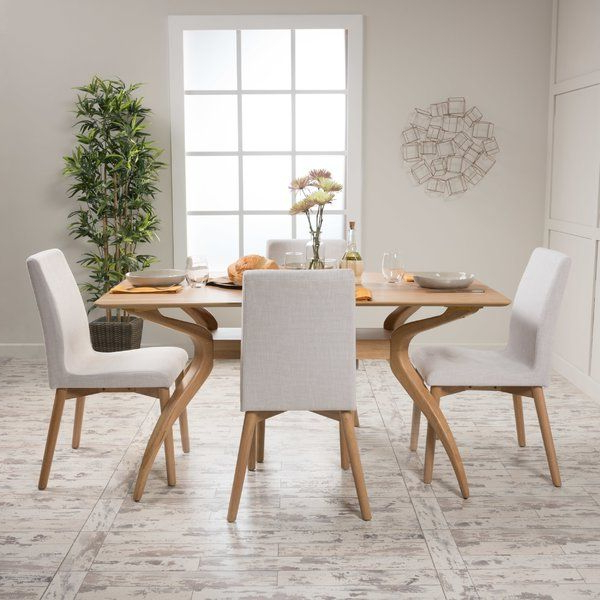 Best And Newest Liles 5 Piece Breakfast Nook Dining Sets For Liles 5 Piece Dining Set In (View 19 of 20)