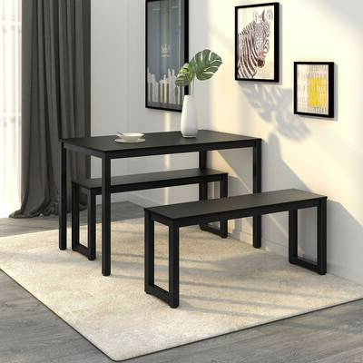 Best And Newest Wrought Studio Chelmsford 3 Piece Dining Set & Reviews (View 1 of 20)