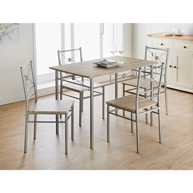 B&m Within Latest 5 Piece Dining Sets (Gallery 7 of 20)
