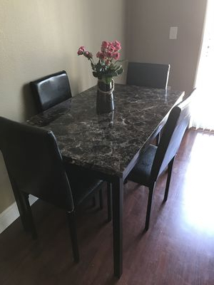 Brand New Wayfair Noyes 5 Piece Dining Set For Sale In Orlando, Fl Pertaining To Well Known Noyes 5 Piece Dining Sets (Gallery 5 of 20)