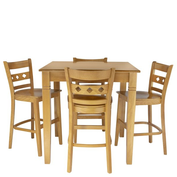 Calla 5 Piece Dining Sets Throughout Current Calla 5 Piece Counter Height Dining Setlatitude Run 2019 Coupon (View 11 of 20)