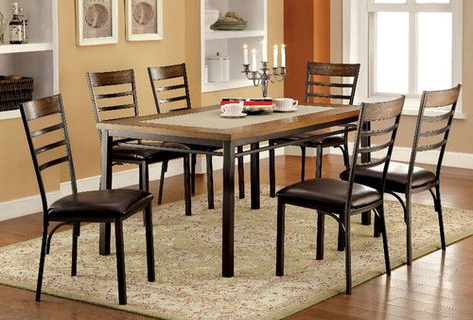 Carriage Hill 7 Piece Extendable Dining Set Inside Preferred Pratiksha Sonoma 5 Piece Dining Sets (View 8 of 20)