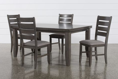 Casiano 5 Piece Dining Sets Throughout Most Popular Servantes 5 Piece Dining Set (View 7 of 20)