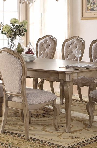 Chelmsford Antique Taupe Dining Chair Set Of 2 Within Well Known Chelmsford 3 Piece Dining Sets (Gallery 9 of 20)