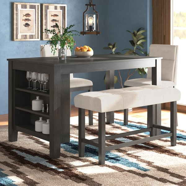 Chelsey 4 Piece Dining Settrent Austin Design Best Pricecounter Regarding Well Liked Kerley 4 Piece Dining Sets (View 7 of 20)