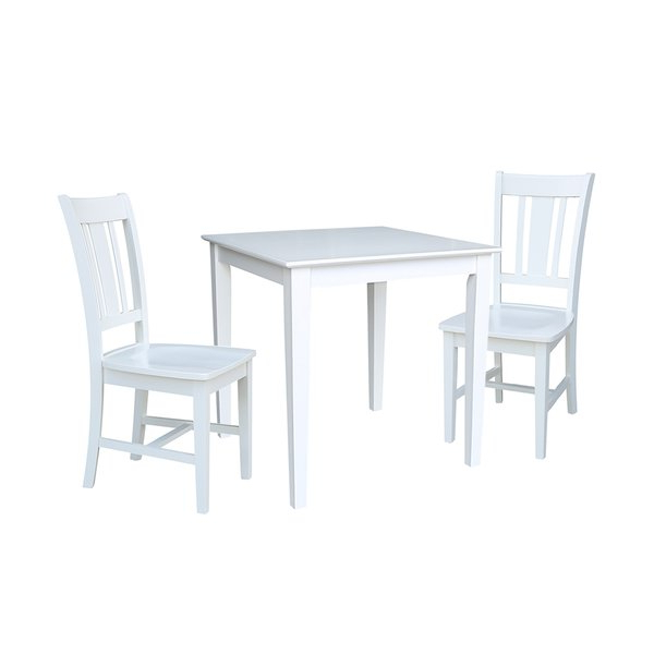 Cincinnati 3 Piece Dining Sets With Regard To Current 💯save Crocker 3 Piece Dining Setrosecliff Heights (View 5 of 20)