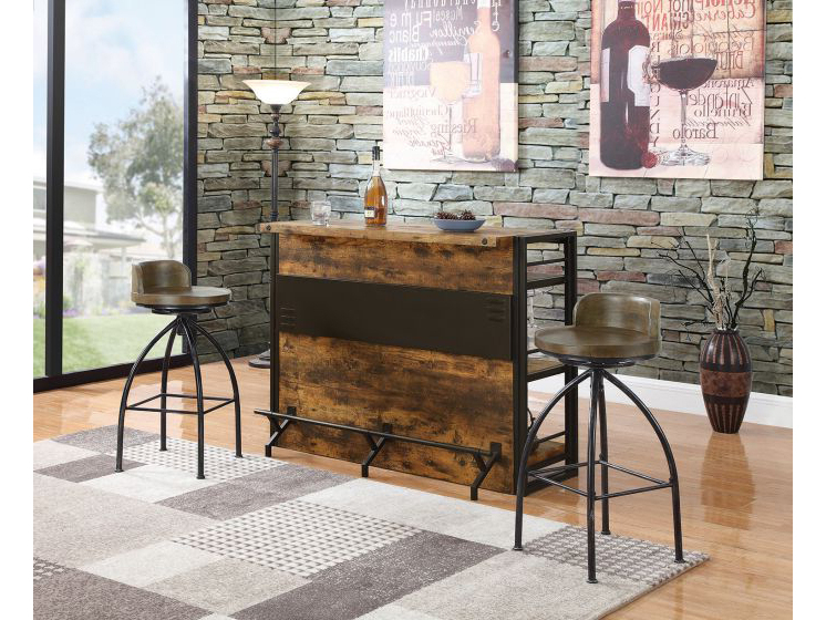 Crownover 3 Piece Bar Table Sets Intended For Famous Bar Table Set – Summervilleaugusta (View 6 of 20)