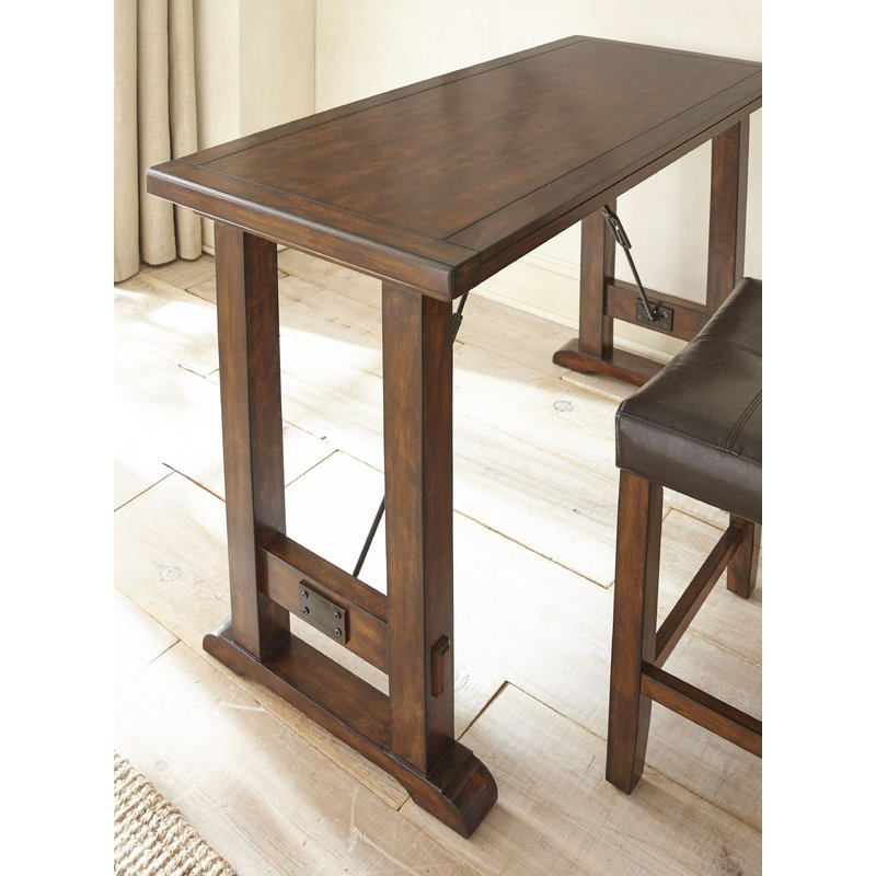 Current Alcott Hill Norrell 3 Piece Counter Height Dining Set & Reviews Throughout Poynter 3 Piece Drop Leaf Dining Sets (View 3 of 20)