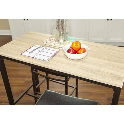 Current Askern 3 Piece Counter Height Dining Sets (Set Of 3) With Guillaume 3 Piece Dining Set & Reviews (View 6 of 20)