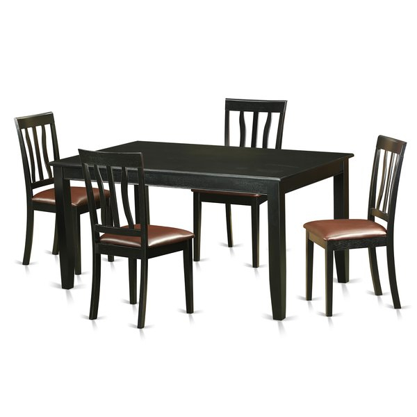 Current Ligon 3 Piece Breakfast Nook Dining Sets Intended For Dudley 5 Piece Dining Setwooden Importers Reviews On (View 11 of 20)