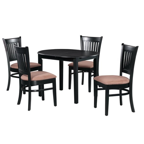 Czerwinski 5 Piece Dining Setaugust Grove On (View 4 of 20)