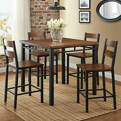 Denzel 5 Piece Counter Height Breakfast Nook Dining Sets For Well Known Counter Height Tall Table Set/dining Room/kitchen Nook/breakfast (View 5 of 20)