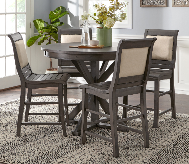 Dining Pertaining To Moorehead 3 Piece Counter Height Dining Sets (View 4 of 20)