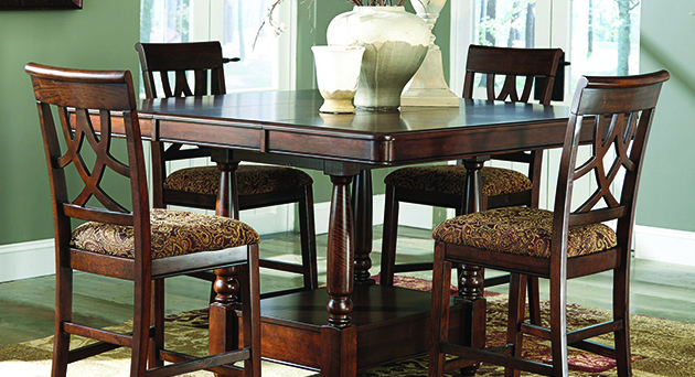 Dining Room Furniture Palace For Preferred Northwoods 3 Piece Dining Sets (View 8 of 20)