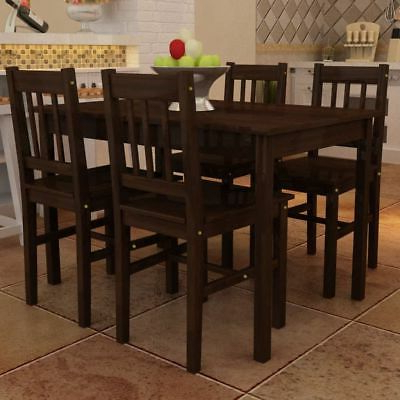 Dining Set With Table 4 Chairs Stable Kitchen Furniture Diy 5 Pieces With Regard To 2019 Tavarez 5 Piece Dining Sets (View 6 of 20)