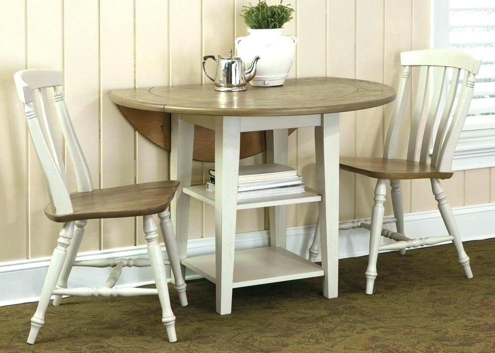 Dining Table Sets Confer 3 Piece Dining Set March 2019 3 Piece Throughout Famous Bearden 3 Piece Dining Sets (View 13 of 20)