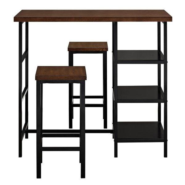 Du Bois 3 Piece Pub Table Set (View 5 of 20)