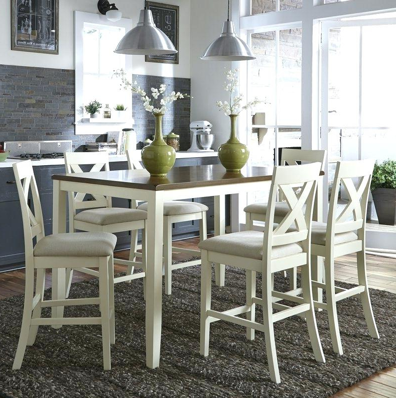 Eastep 5 Piece Counter Height Breakfast Nook Dining Set 7 In Throughout Current Denzel 5 Piece Counter Height Breakfast Nook Dining Sets (View 7 of 20)