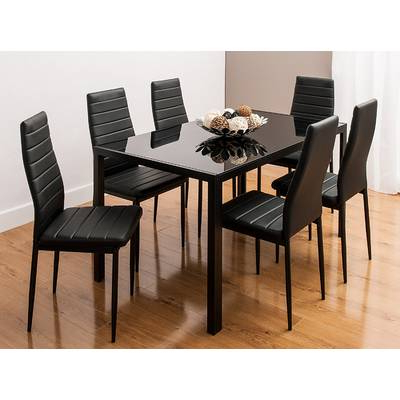 Ebern Designs Lamotte 5 Piece Dining Set (Gallery 12 of 20)
